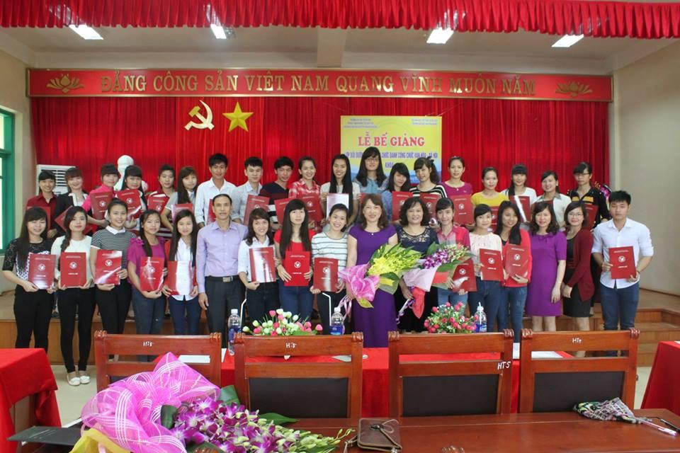 Tổ chức Lễ bế giảng lớp Bồi dưỡng nghiệp vụ chức danh công chức văn hóa - xã hội khóa III